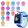 Детские умные часы с камерой smart watch UNI TD07S Чёрно-Синий, фото 4