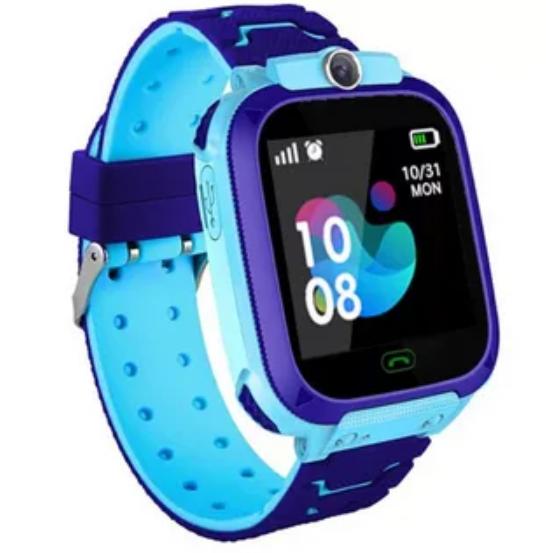 Детские умные часы с камерой smart watch UNI TD07S Чёрно-Синий