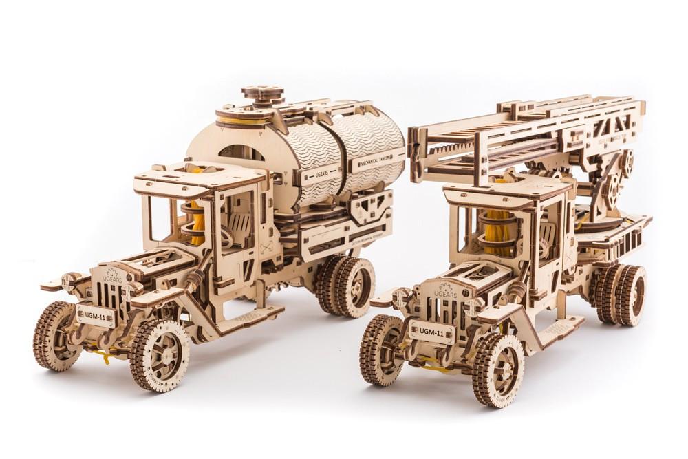 Набор дополнительный к модели UGM - 11 | UGEARS | Механический 3D конструктор из дерева