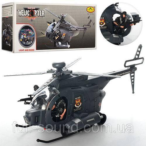 Військовий вертоліт з солдатами 922