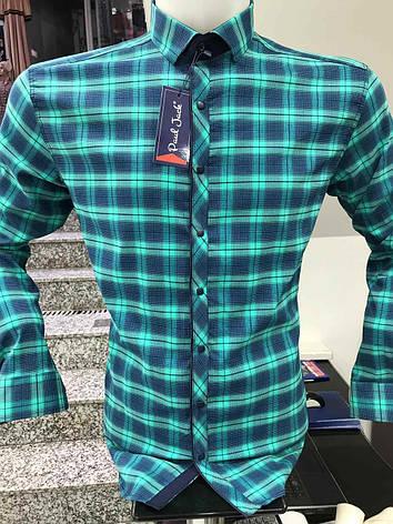 Рубашка батальная Paul Jack в клетку, фото 2