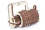 Кодовый замок | UGEARS | Механический 3D конструктор из дерева, фото 2