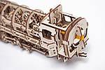 Локомотив с Тендером | UGEARS | Механический 3D конструктор из дерева, фото 7