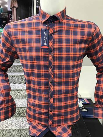 Сорочка батальна Paul Jack в клітку, фото 2