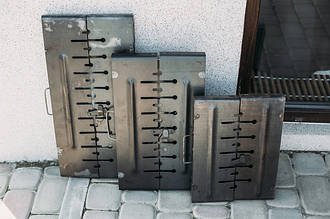 """Мангалы """"Чемодан"""""""