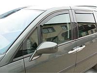 Дефлектори вікон вставні Citroen C8 / Peugeot 807  5D 2002-2014, 4 шт