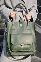 Сумка шоппер MEGAN зеленого цвета от UDLER