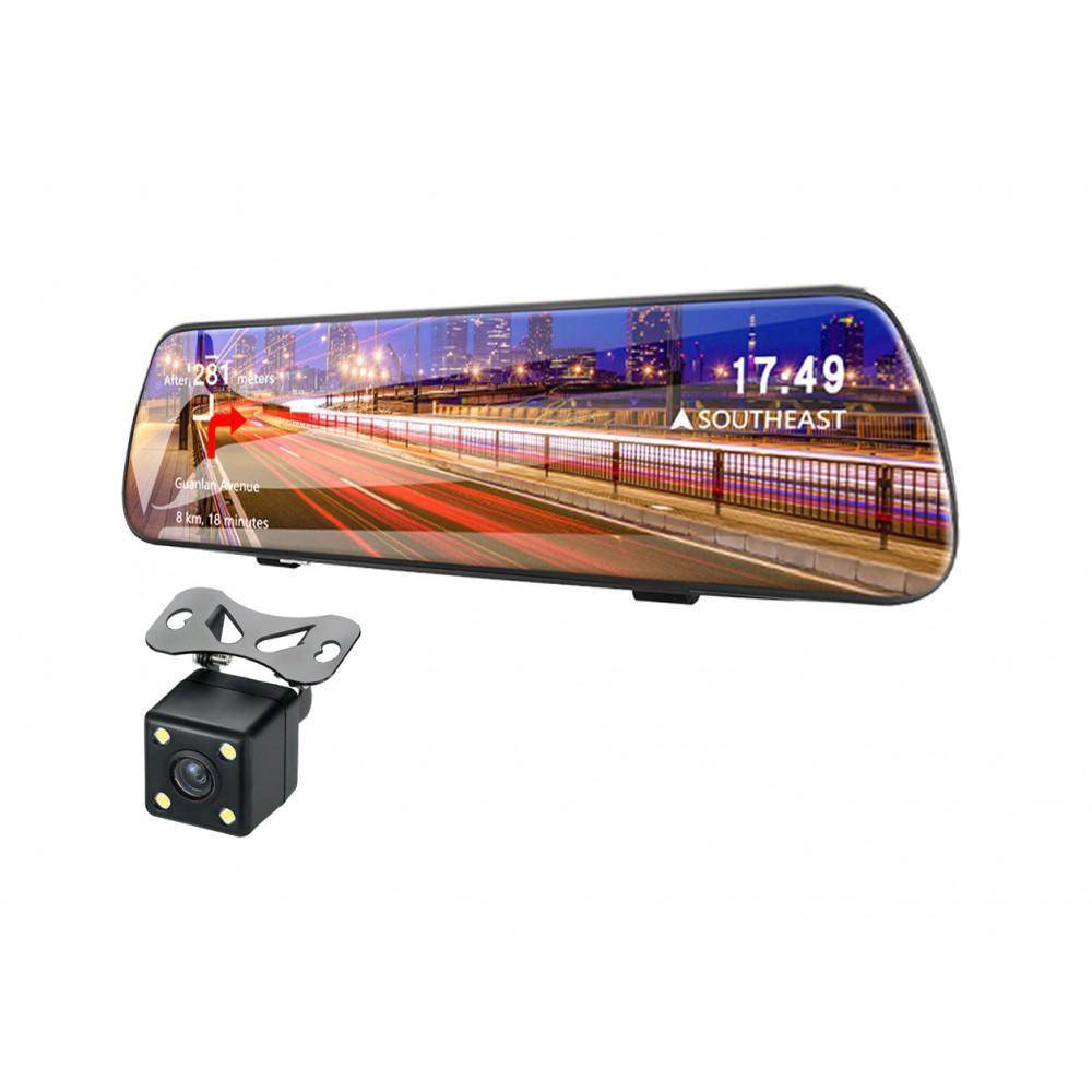 Зеркало заднего вида с Full HD видеорегистратором Celsior DVR M3