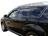 Дефлектори вікон вставні Citroen C-Crosser / Peugeot 4007 5D 2007->  4шт, фото 4
