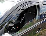 Дефлектори вікон вставні Citroen C-Crosser / Peugeot 4007 5D 2007->  4шт, фото 5