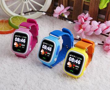 Детские умные часы smart baby watch q90 с gps трекером