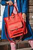 Сумка шоппер MEGAN красного цвета от UDLER