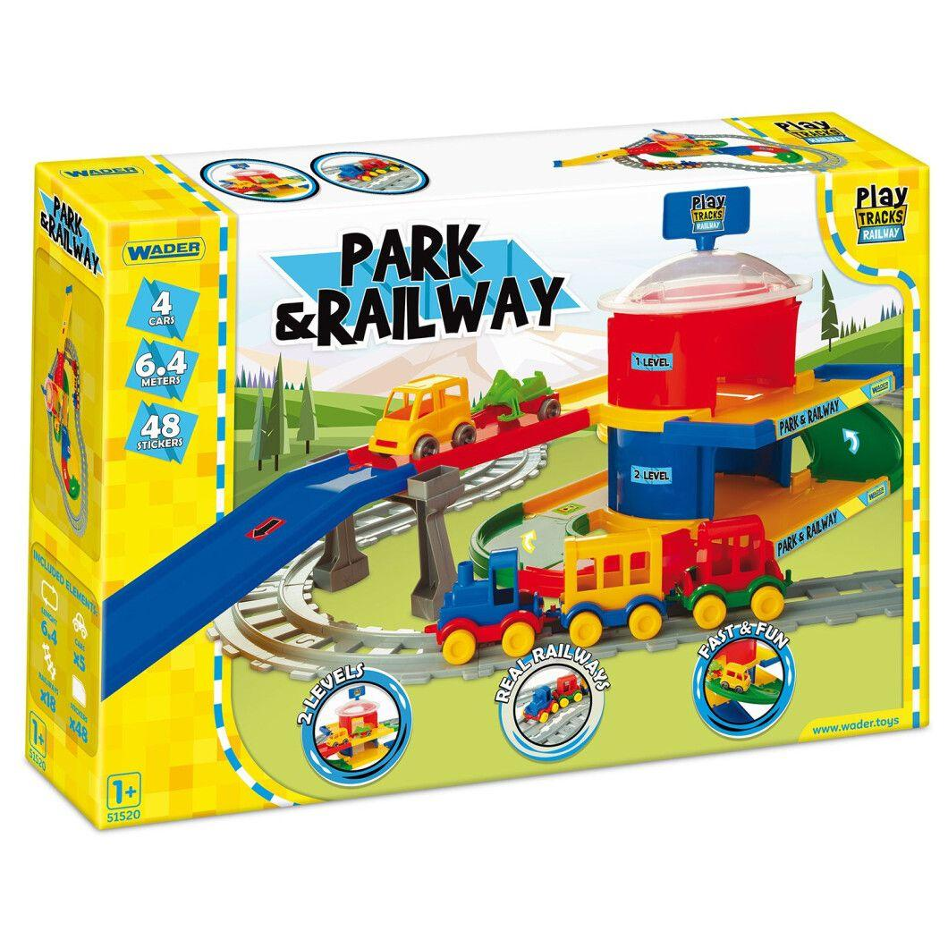 Play Tracks вокзал 6,4 м Wader ( 51520)