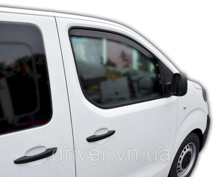 Дефлектори вікон вставні Citroen Jumpy / Peugeot Expert / Toyota ProAce 2016+  2шт