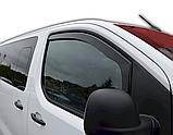 Дефлектори вікон вставні Citroen Jumpy / Peugeot Expert / Toyota ProAce 2016+  2шт, фото 3