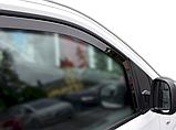 Дефлектори вікон вставні Citroen Jumpy / Peugeot Expert / Toyota ProAce 2016+  2шт, фото 4