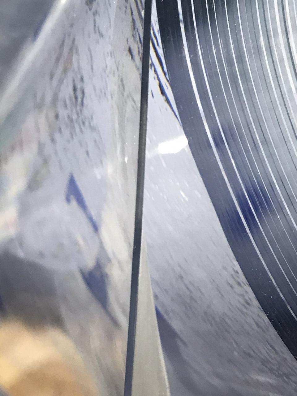 М'яке скло ширина 80 см товщина 1 мм на метраж