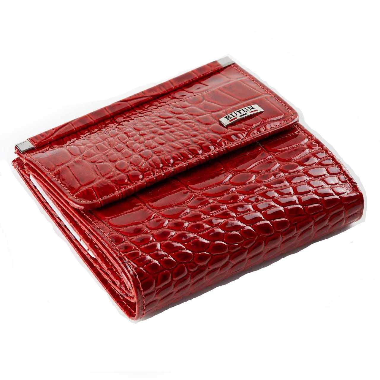 Женский кошелек Butun 590-006-006 кожаный красный
