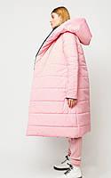 Двухстороннее зимнее пальто Блум (размеры 42-48 в расцветках)