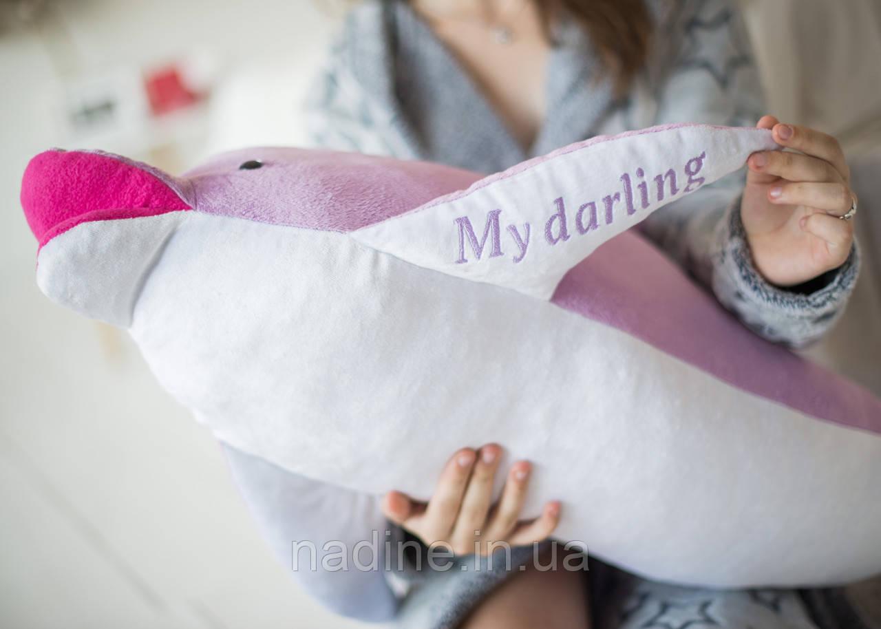 Игрушка плюшевый Дельфин (312-L-100) Eirena Nadine 100 см Лиловый