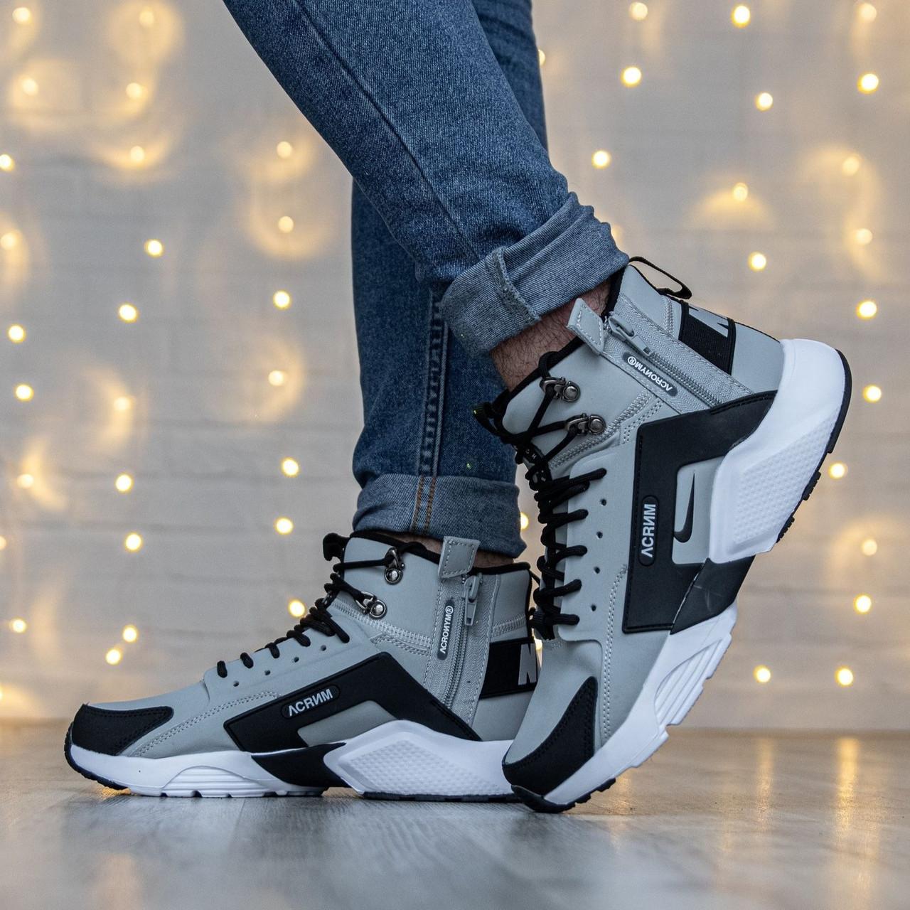 Мужские кроссовки в стиле Nike Huarache x Acronym