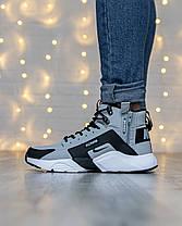 Мужские кроссовки в стиле Nike Huarache x Acronym, фото 2