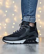 Мужские кроссовки в стиле Nike Air Max 90 Sneakerboot, фото 2