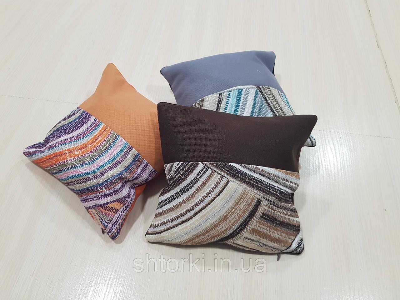 Комплект подушок Абстракція кольорові, 3шт