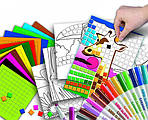 Детские раскраски в тестировании психологического состояния ребенка