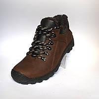 Коричневые зимние мужские кроссовки Rosso Avangard. Erelli. Кожа 40