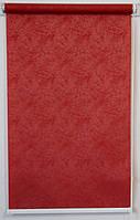 Готовые рулонные шторы Ткань Агат Бордо