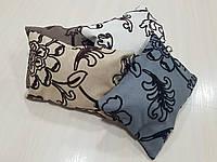 Комплект подушек   Цветы флок 4шт