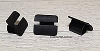 Крепление тепло-шумоизоляции капота много моделей Skoda. ОЕМ: 867863849A01C, 867863849A