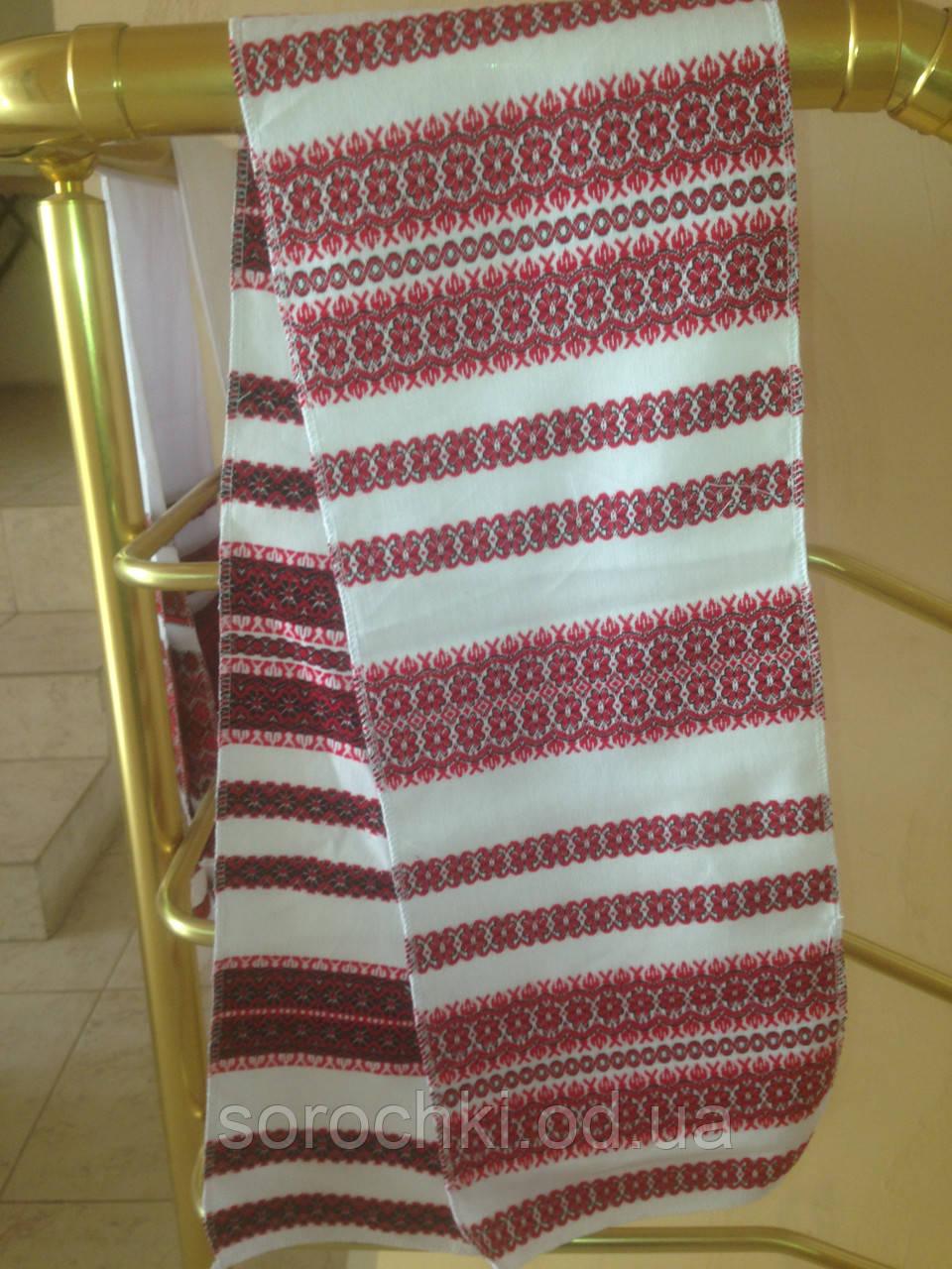 Рушники и скатерти с обережным орнаментом ,  домотканная ткань размер 150 х 25 см