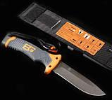 Нож для выживания Gerber Bear Grylls Ultimate, защитный чехол, огниво в комплекте, фото 4