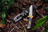 Нож для выживания Gerber Bear Grylls Ultimate, защитный чехол, огниво в комплекте, фото 7
