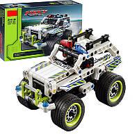 Конструктор Поліцейський патруль, порівнянний Lego Technic 42047, 185 деталей