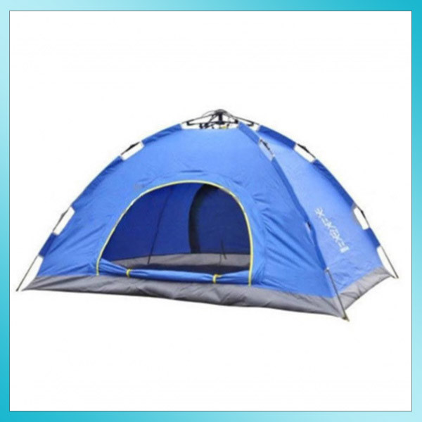 Палатка-автомат CAMP 4-х местная СИНЯЯ