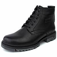 Зимние ботинки ручной работы индивидуально пошита обувь для мужчин из натуральной кожи Ultimate by Rosso 40 размер