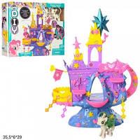 Замок SM2019 My Little Pony с пони и аксес.кор.35,5*6*29 /36/ (SM2019)