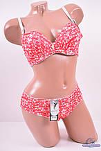 Комплект нижнего белья цв.красный (бюстгальтер чашкаCна тонком поролоне) YADAILI 8760 Объем:80,85