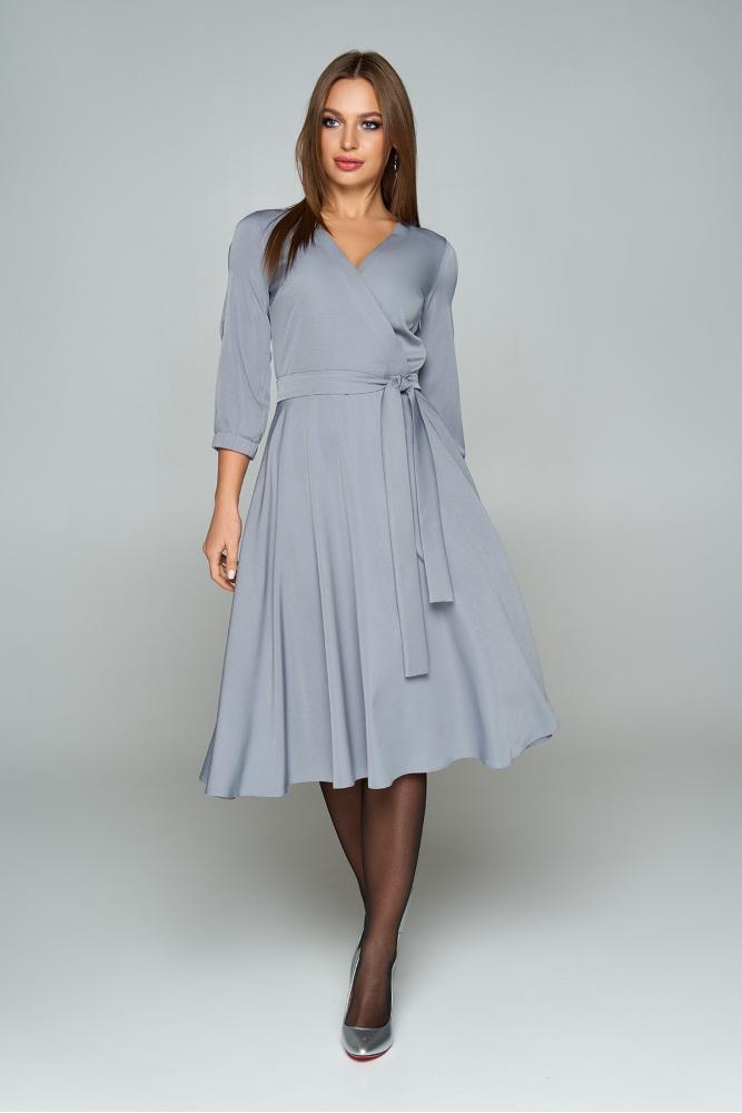 "Платье ""AZ-224"" (серый) S; M; XL"