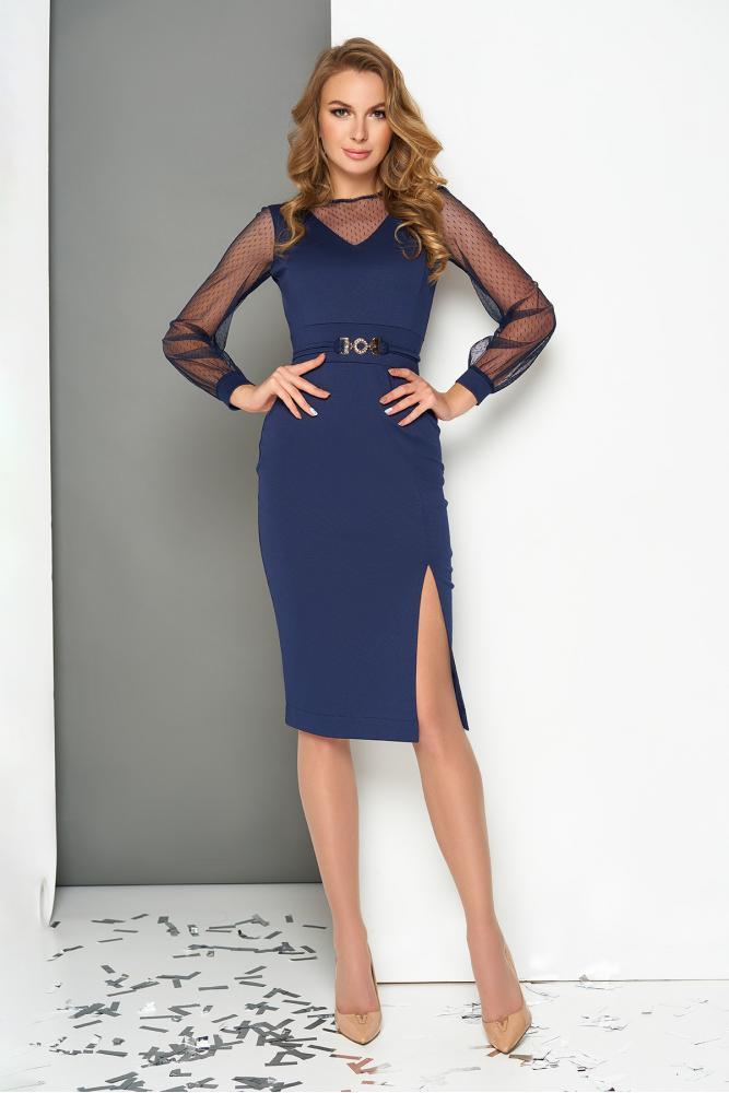 """Сукня """"AZ-217"""" (темно-синій) M; L"""