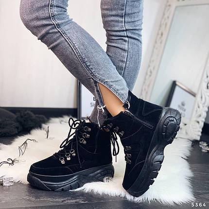 Ботинки демисезонные замшевые, фото 2