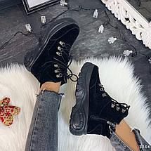 Ботинки демисезонные замшевые, фото 3