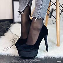 Велюровые туфли женские, фото 2