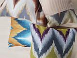 Комплект подушок Абстракція зигзаги, 4шт, фото 2