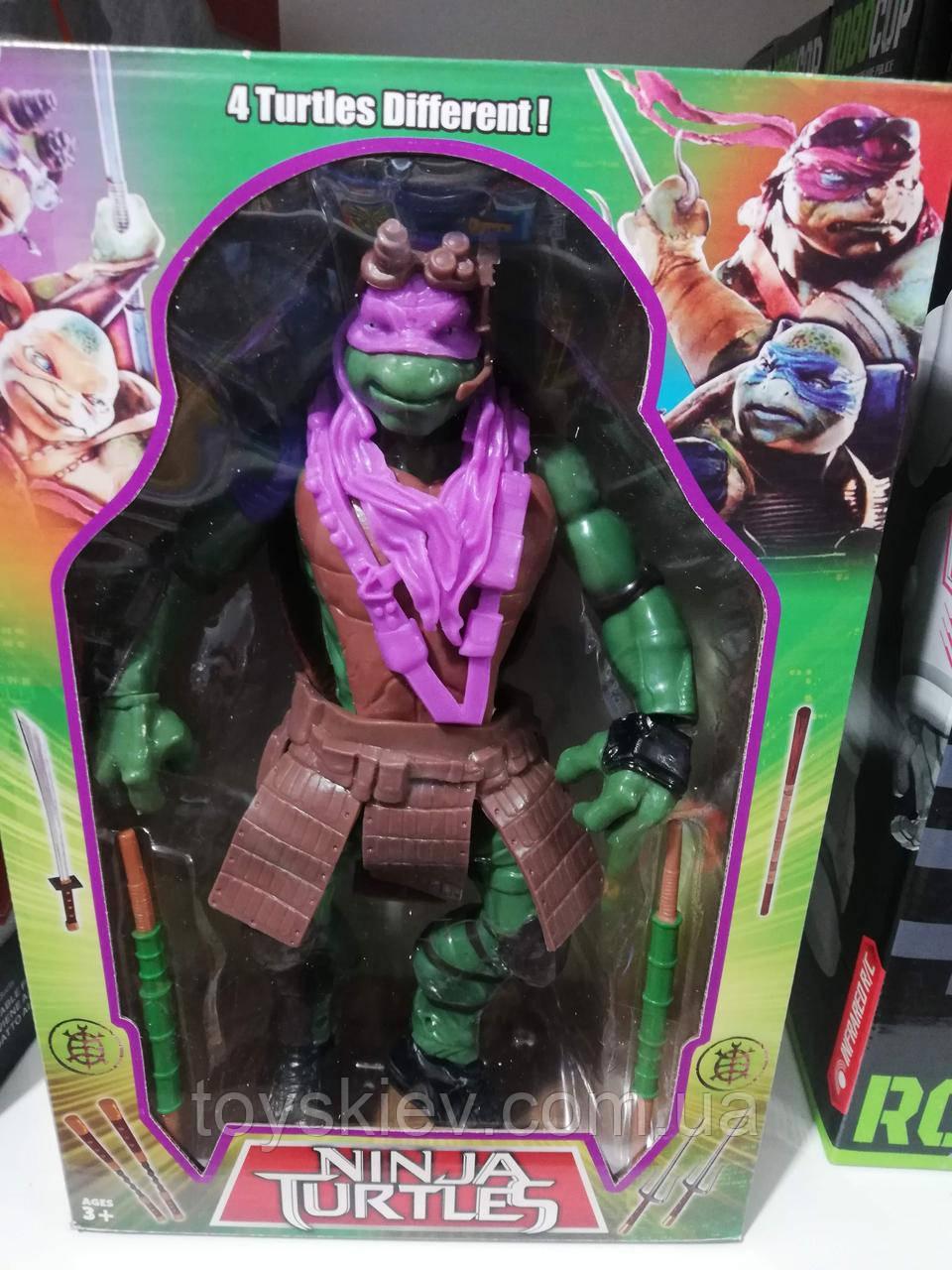 Игровая фигурка Черепашка Ниндзя Донателло (большая) / Черепашки Ниндзя Ninja Turtles Donatello (9253) 30см