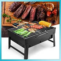 Складной гриль-мангал для барбекю BBQ Grill Portable, фото 1