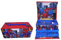 Набор для рисования SP-54 Сундук Spider Man 54 предмета